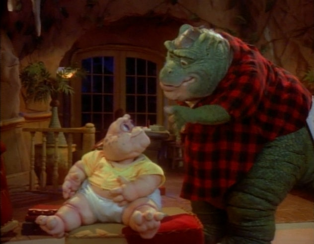 Dinosaurs was created by Jim Henson Studios.