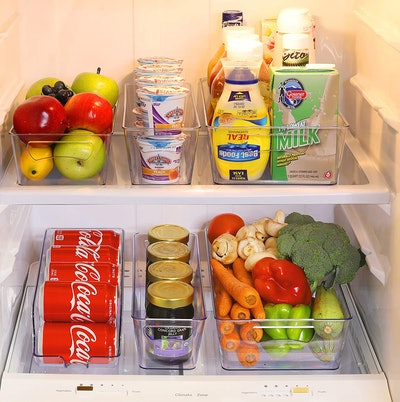 Simple Houseware Freezer Storage Organizer (6 Pack)