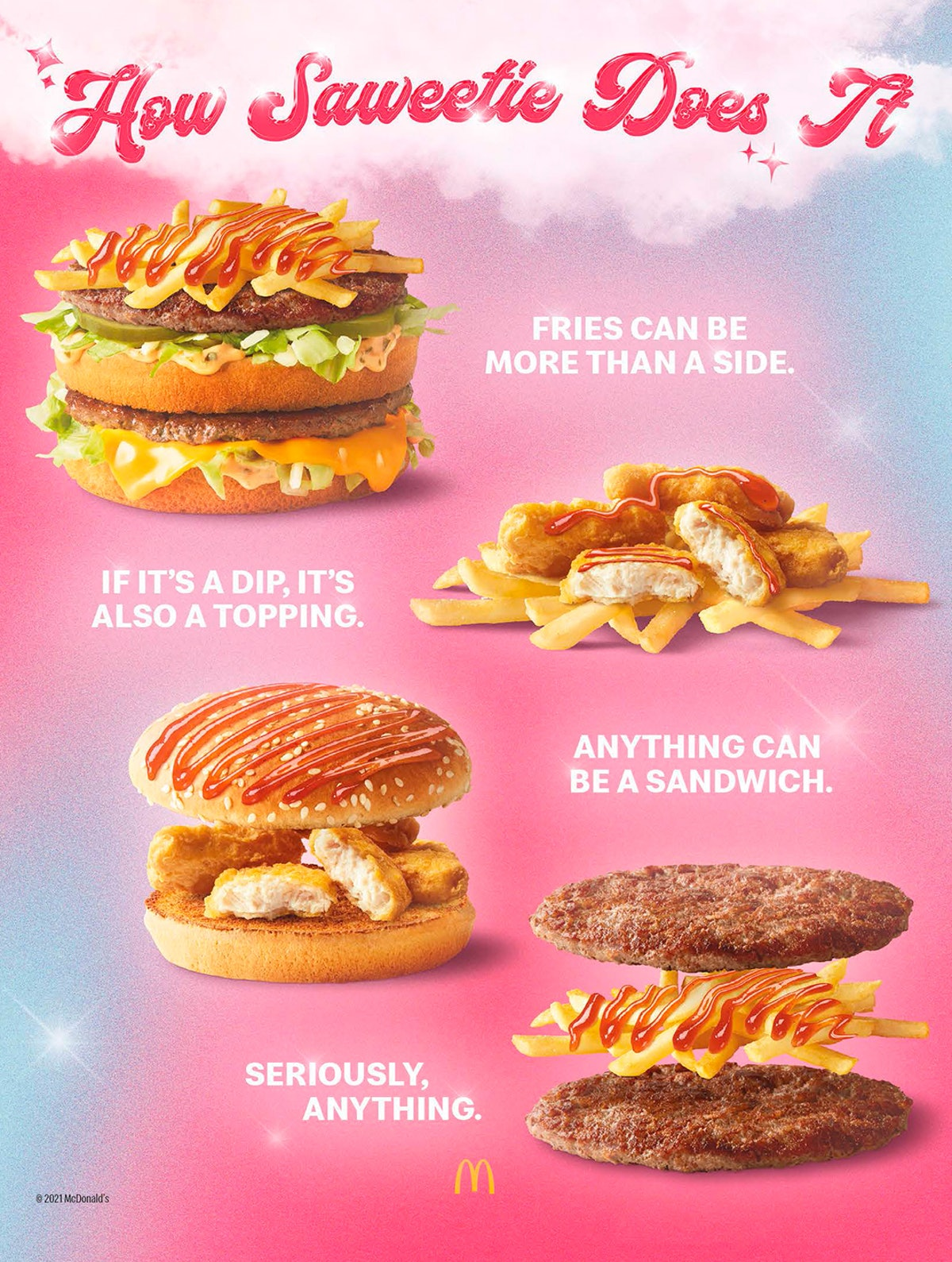 Here's what's in McDonald's Saweetie Meal so you know before you order.