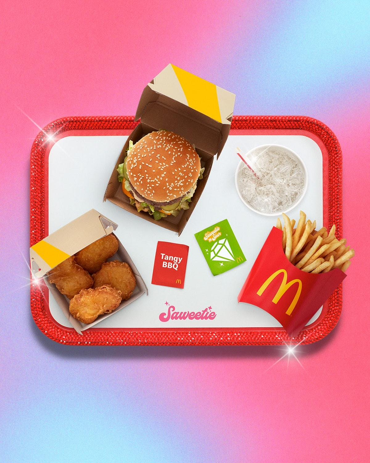 Here's what's in McDonald's Saweetie Meal that's hitting restaurants so soon.