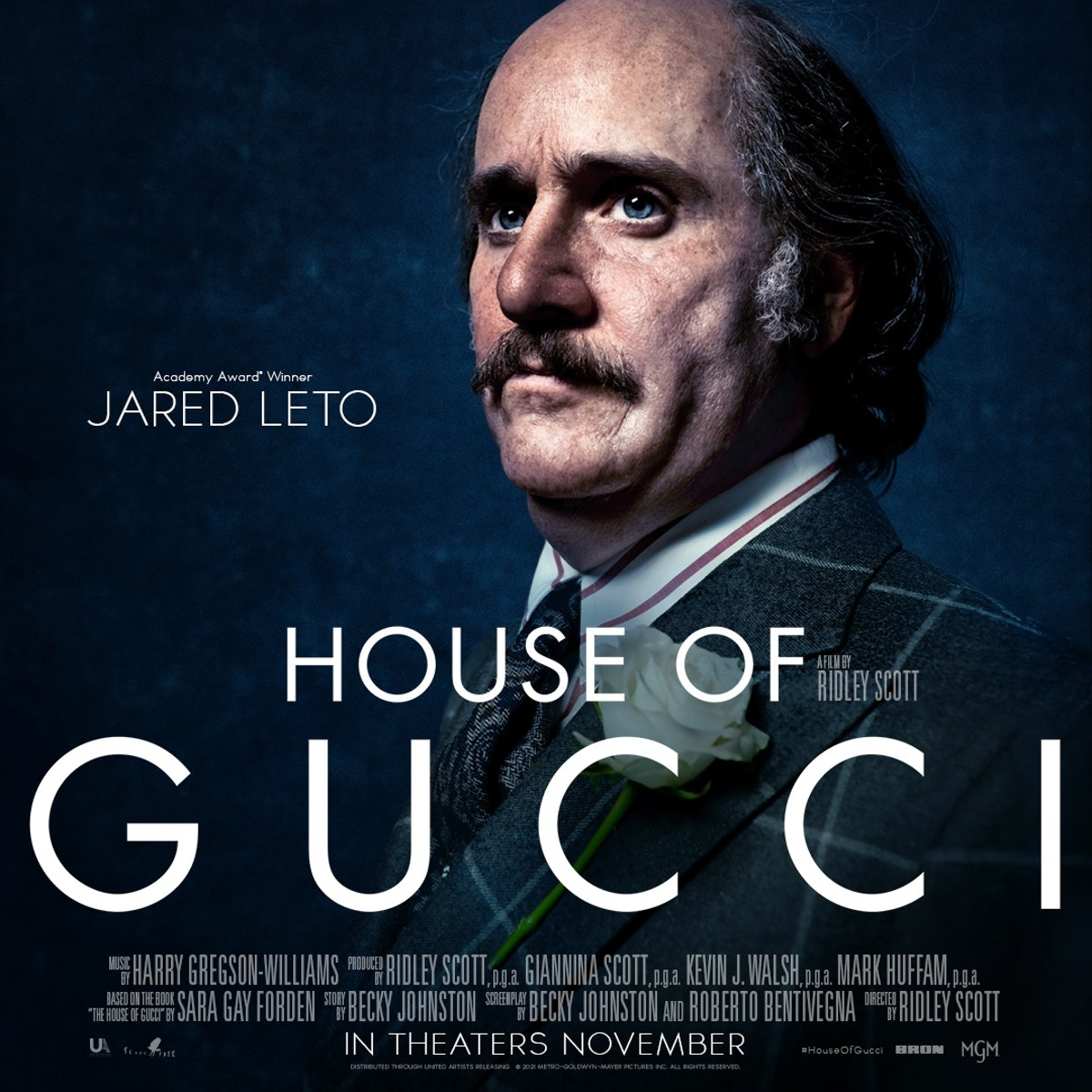 Finally, here is Jared Leto as a Gucci!