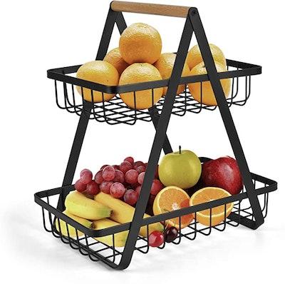 Sikon 2-Tier Countertop Fruit Basket