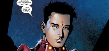Iron Lad revealing his true identity in Young Avengers #1