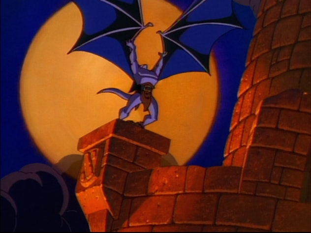 Gargoyles features the voice talents of Keith David, Jonathan Frakes, and Ed Asner.