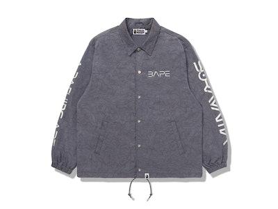 BAPE x Hajime Sorayama coach jacket