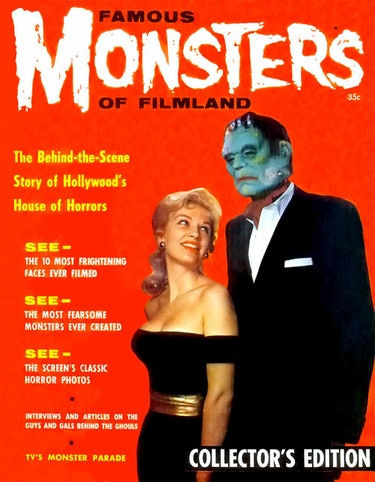 The first issue of Famous Monsters of Filmland magazine