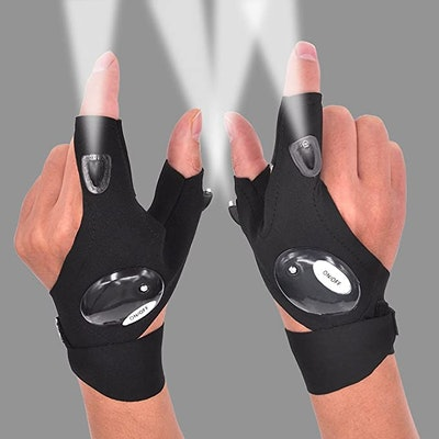 Mylivell LED Flashlight Glove