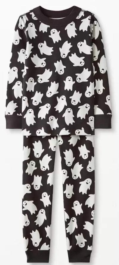 Long John Pajamas In Organic Cotton — Spooky Smiles
