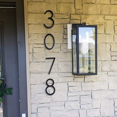 Youde House Address Numbers