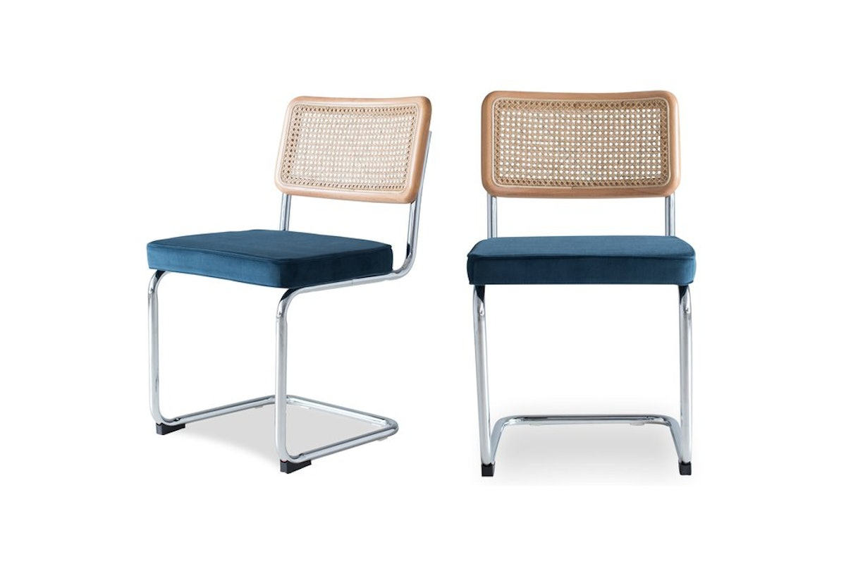 Nora Dining Chair, Blue (Set of 2)