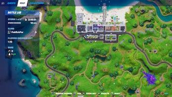 fortnite rift tour poster location 2 map