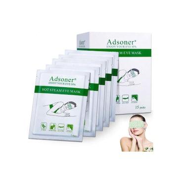 Adsoner Steam Eye Masks (15 Pack)