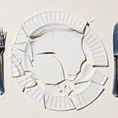 plate broken empty