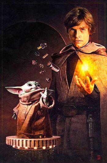 Mandalorian' Season 3 poster reveals a surprising Baby Yoda-Rey connection