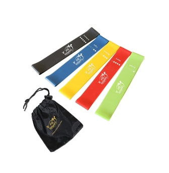 Fit Simplify Resistance Exercise Bands (Set of 5)