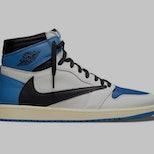 Travis Scott Fragment Air Jordan 1
