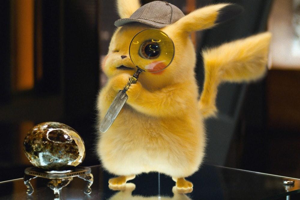 detective pikachi