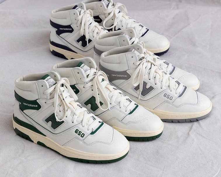 Aimé Leon Dore's chunky, high-top New Balance sneaker is up for ...