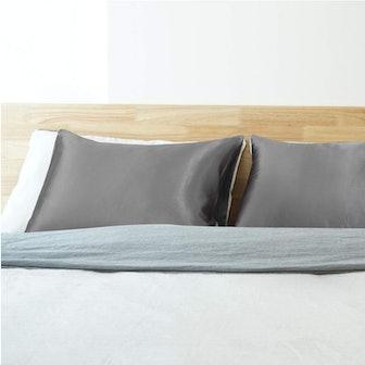 Bedsure King-Size Satin Pillowcase (Set Of 2)