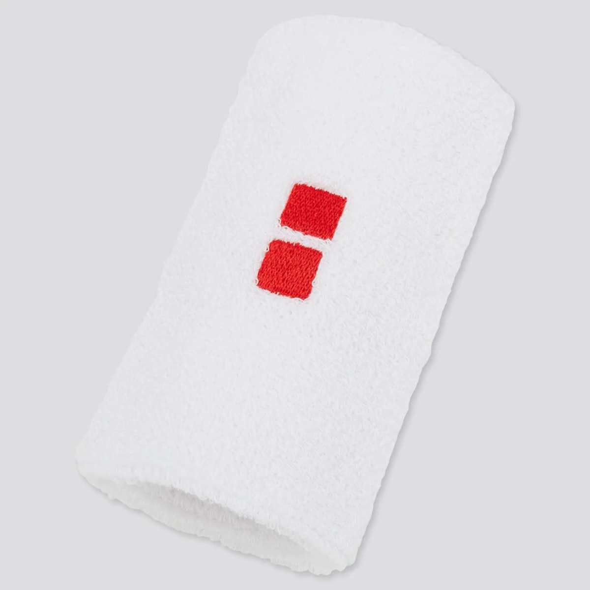 Uniqlo white tennis wristband