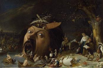 The Temptation of Saint Anthony by Joos van Craesbeeck Google Cultural Institute screenshot