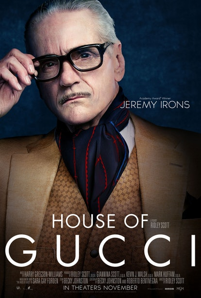Jeremy Irons in 'House of Gucci'
