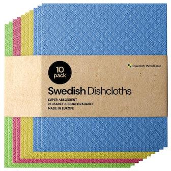 Swedish Wholesale Swedish Dish Cloths (10-Pack)