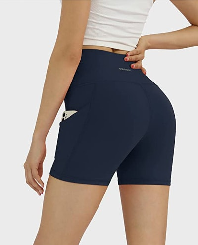ODODOS High Waist Athletic Shorts