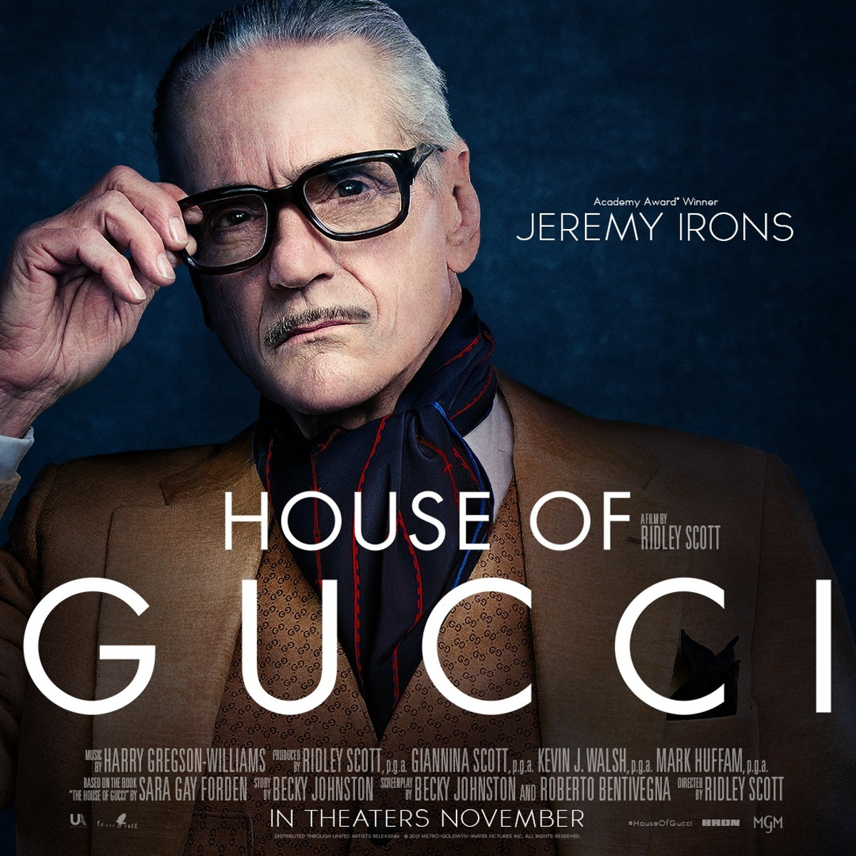 Jeremy Irons as a Gucci person.