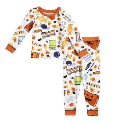 Toddler Halloween Candy Pajamas