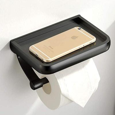 UOCO Toilet Paper Holder with Shelf