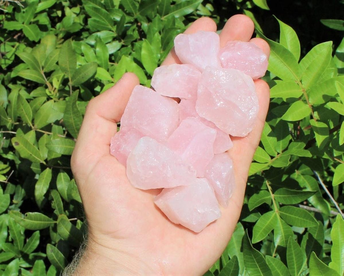 Rose Quartz Rough Natural Stones