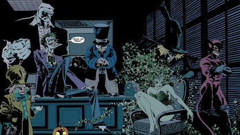 Art from the original Batman: The Long Halloween comic book limited series.