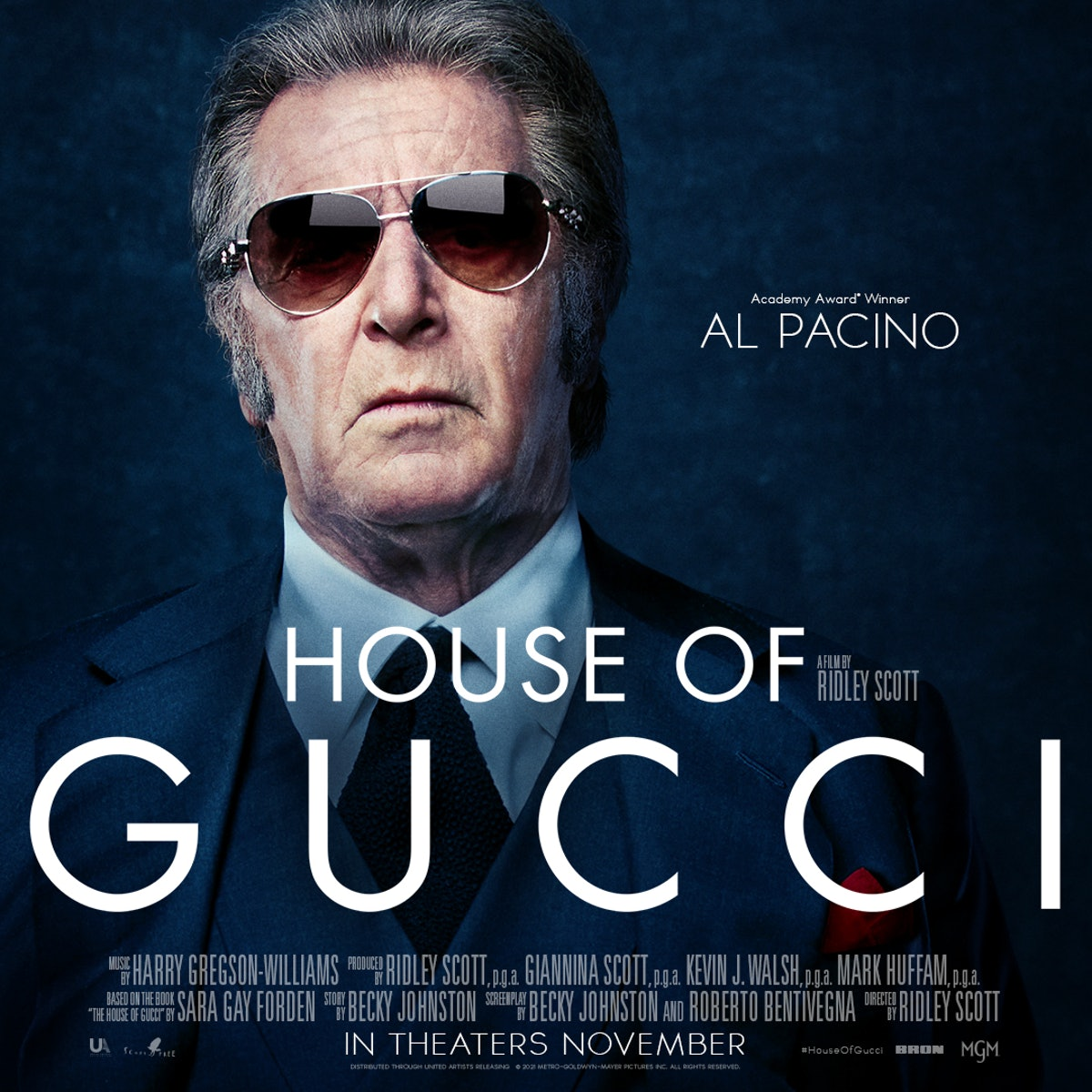 This is Al Pacino as a member of the Gucci family