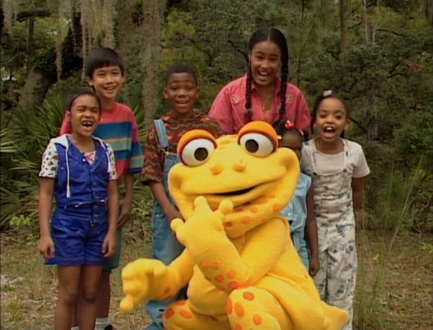 Gullah Gullah Island was presented by Ron and Natalie Daise