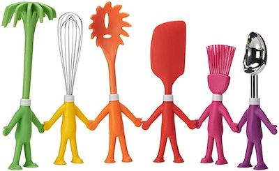 CENTERVS Human-Shaped Kitchen Utensils Set (6-Piece)