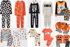 Halloween pajamas for the whole family are a must this spooky season.