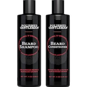 Polished Gentleman Beard Shampoo and Conditioner Set, 4 fl. oz. each