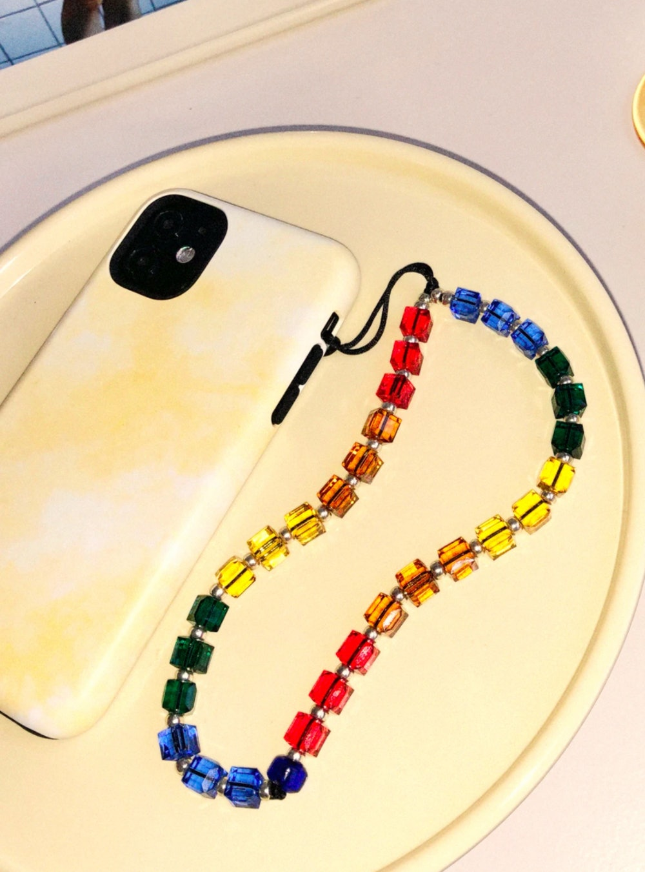Jolly Rancher Crystal Wristlet Phone Strap