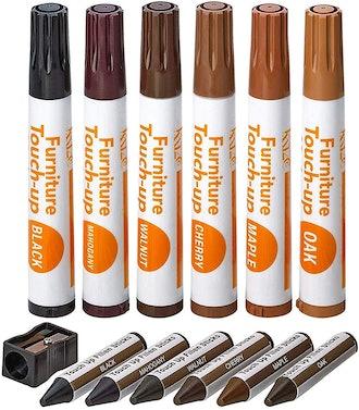 Katzco Repair Wood Markers Kit (Set of 13)