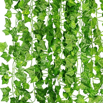 KASZOO Artificial Ivy (12-Pack)