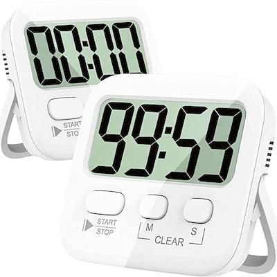 Antonki Magnetic Digital Stopwatch Timer