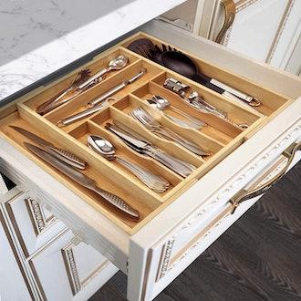 Royal Craft Wood Bamboo Drawer Organizer