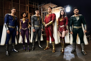 Our first look at the Shazam family in Shazam! Fury of the Gods