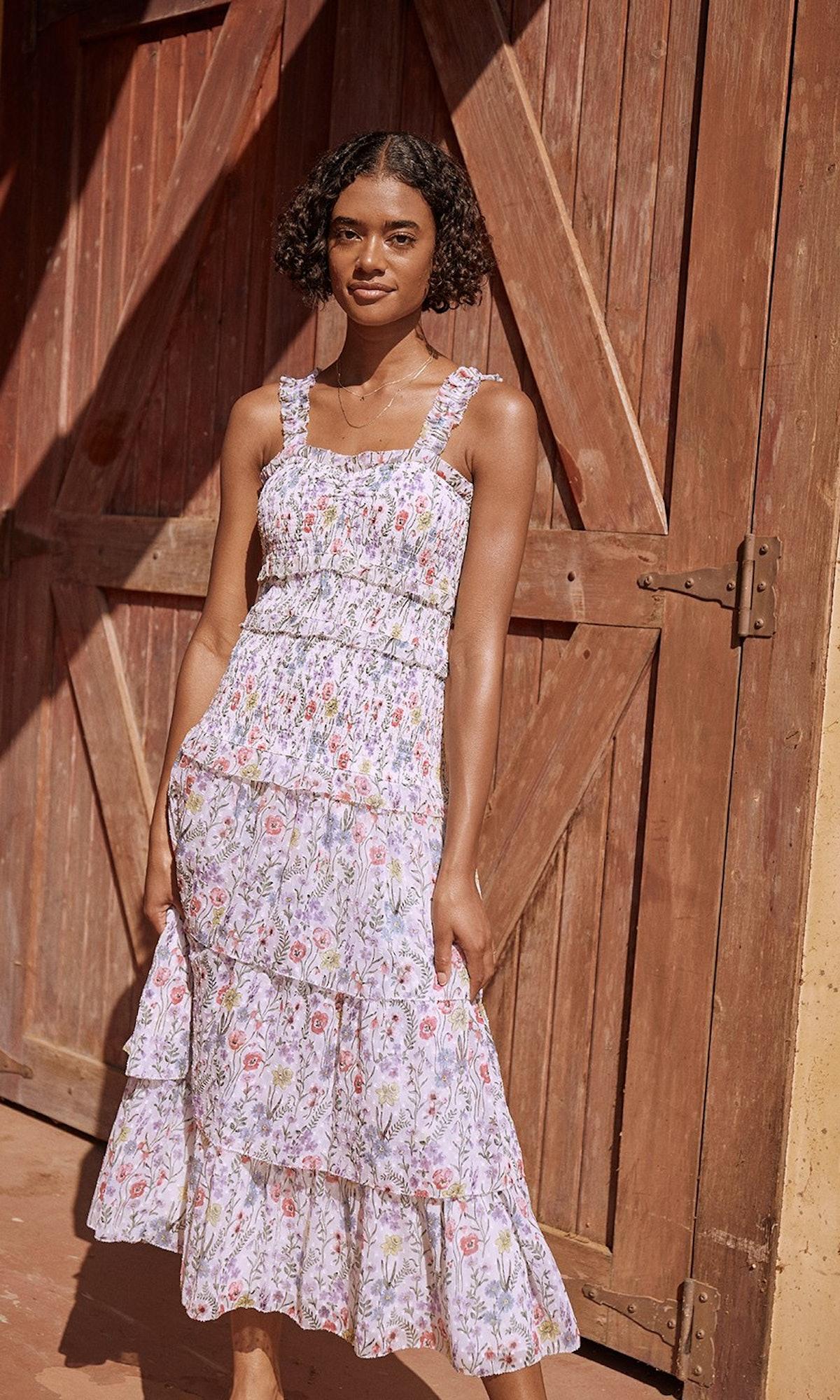 Leanna maxi dress from SAYLOR.
