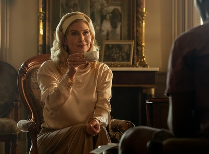 Elizabeth Mitchell as Carla Limbrey in 'Outer Banks' Season 2