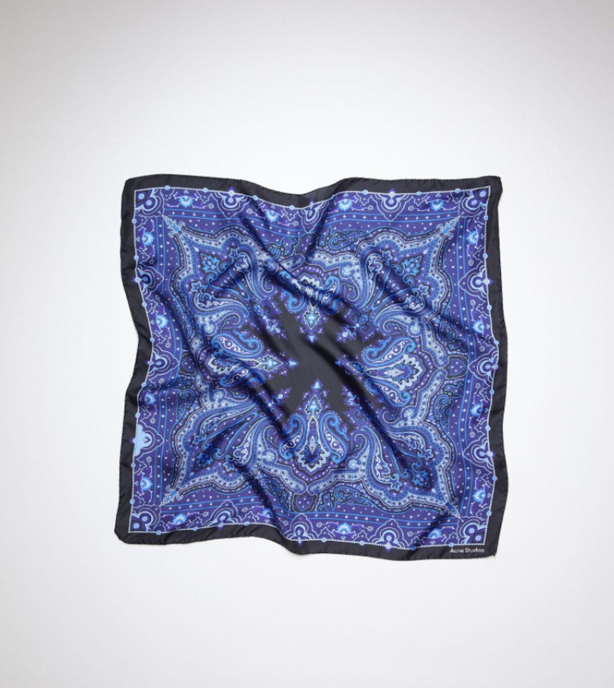 acne paisley scarf