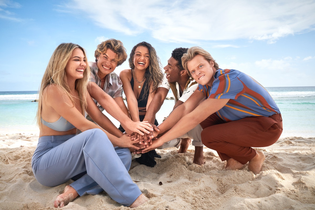 'Outer Banks' cast behind the scenes