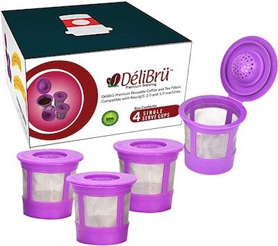 Delibru Reusable K Cups