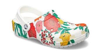 Crocs Classic Floral Clog